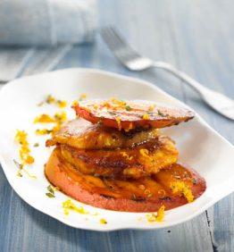 recetas-pina-y-mango-asados-con-canela
