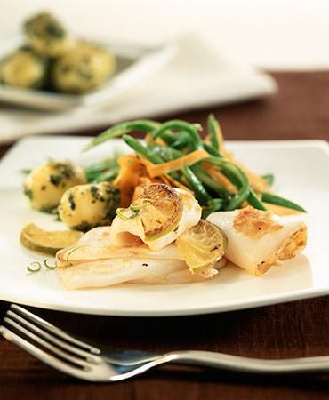 recetas-plancha-de-calamares-con-judias-verdes