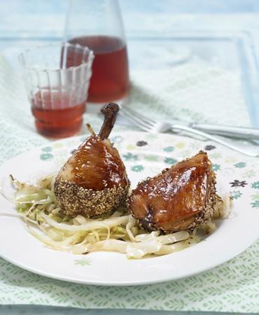 recetas-pollo-con-sesamo-y-miel