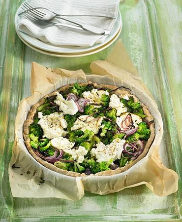 recetas-quiche-de-brocoli-con-cebolla-roja-y-queso-de-cabra