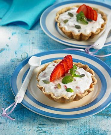 recetas-quiche-de-fresas-menta-y-semillas-de-calabaza