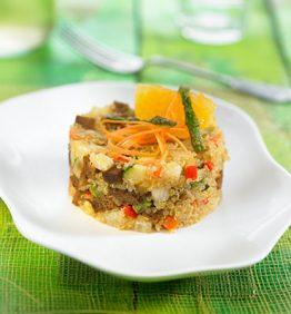 recetas-quinoa-con-mandarina-y-seitan