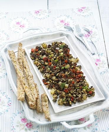 recetas-quinoa-con-pisto-horneado