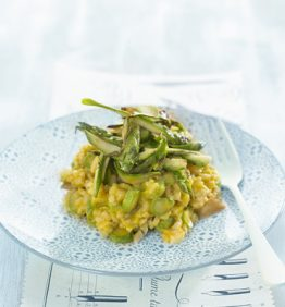 recetas-rissoto-de-calabaza-esparragos-y-castanas