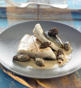 recetas-rodaballo-a-la-plancha-con-salsa-de-colmenillas