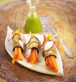 recetas-rollitos-de-berenjena-y-zanahoria-con-aceite-de-perejil