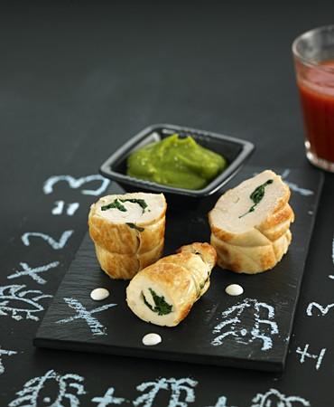 recetas-rulo-de-pollo-con-pure-de-verduras-nutritivas