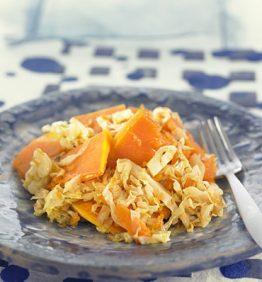 recetas-salteado-de-calabaza-y-col-verde