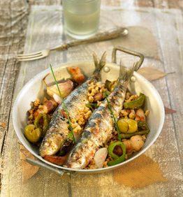 recetas-sardinas-a-la-plancha-con-migas-de-harina-al-estilo-almeriense