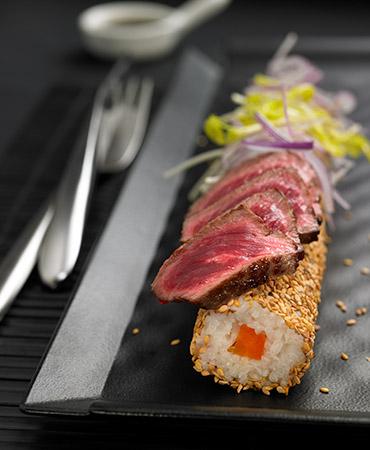 Sushi de entrecot