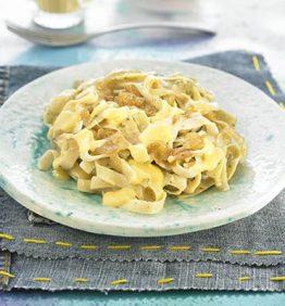 recetas-tallarines-con-queso-vegana