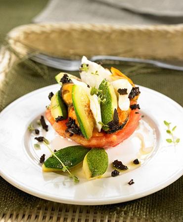 recetas-tomates-rellenos-de-calabacin-bacalao-y-mejillones