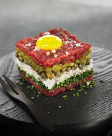 recetas-torre-de-steak-tartare