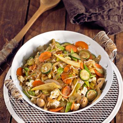 Salteado y wok