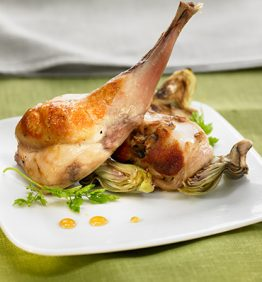recetas-conejo-a-la-parrilla-con-alcachofas