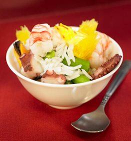 recetas-ensalada-de-arroz-con-marisco-y-judias-verdes
