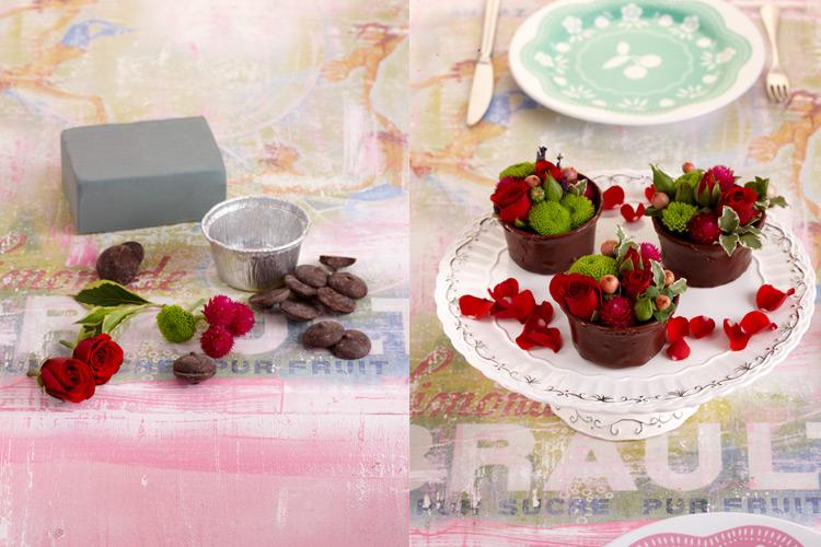 estilo-en-la-mesa-flan-chocolate-y-rosas