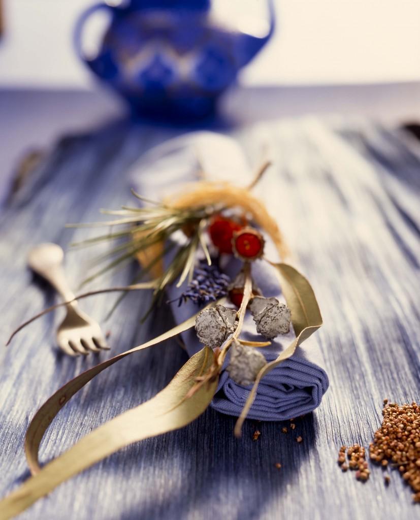 sobre la mesa servilleteros naturales 1