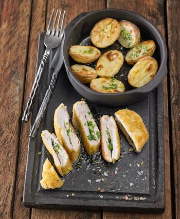 libritos-de-pollo-rebozado-con-patatas-370×450