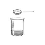 mezclar la cera con el aceite