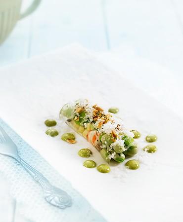 canelon-con-langostinos-y-verduras
