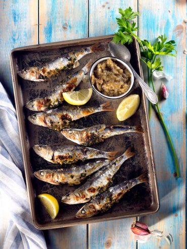 sardinas a la plancha