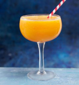 batidi de melotcoton y naranja