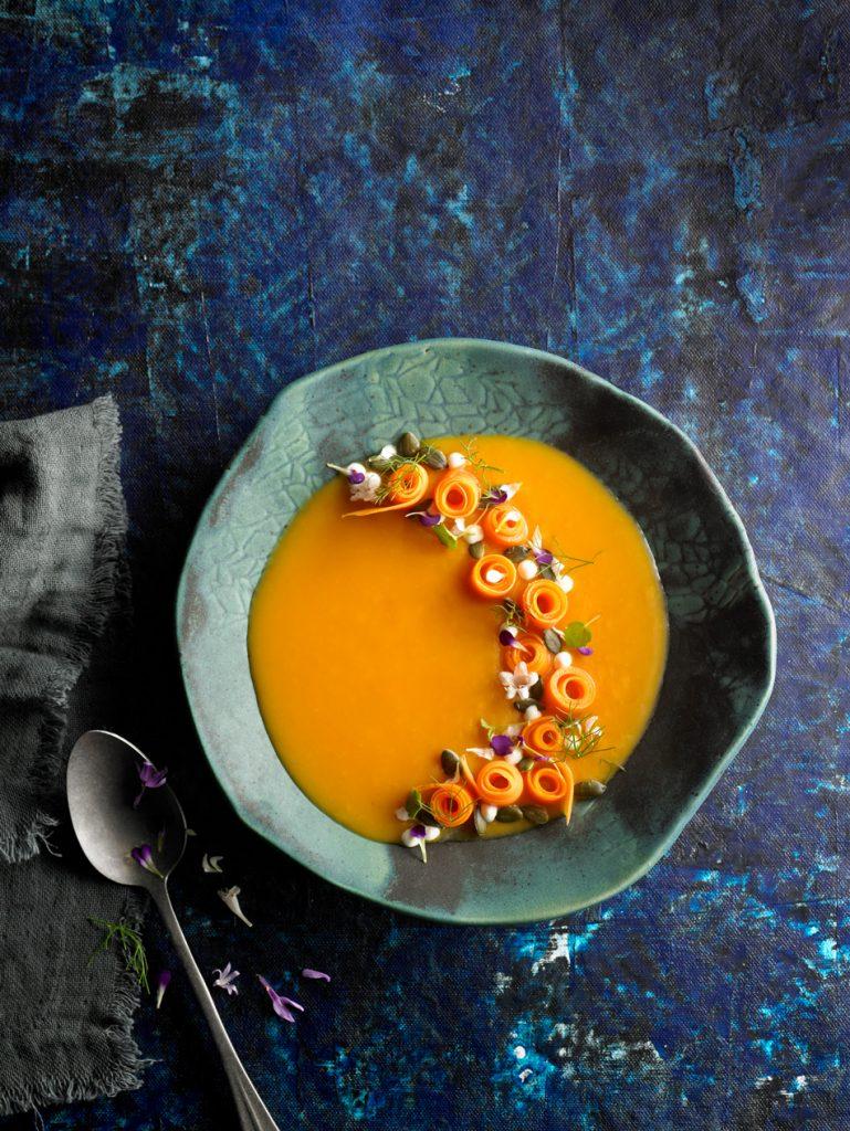 crema de boniato con zanahoriah